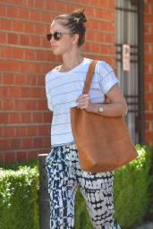 Minka Kelly Casual Style - Out in Beverly Hills, March 2015