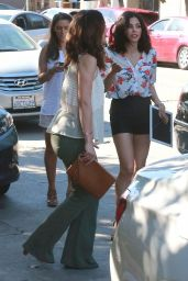 Minka Kelly & Mandy Moore at a party in West Hollywood - March 2015