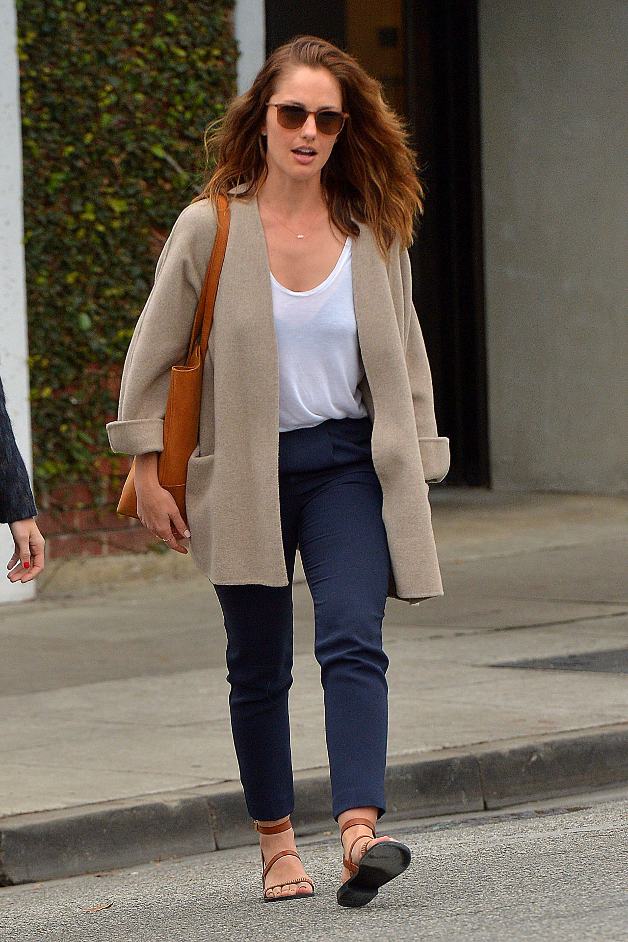 Minka Kelly Amp Mandy Moore Out In Los Angeles March 2015
