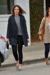 Minka Kelly & Mandy Moore - Out in Los Angeles - March 2015