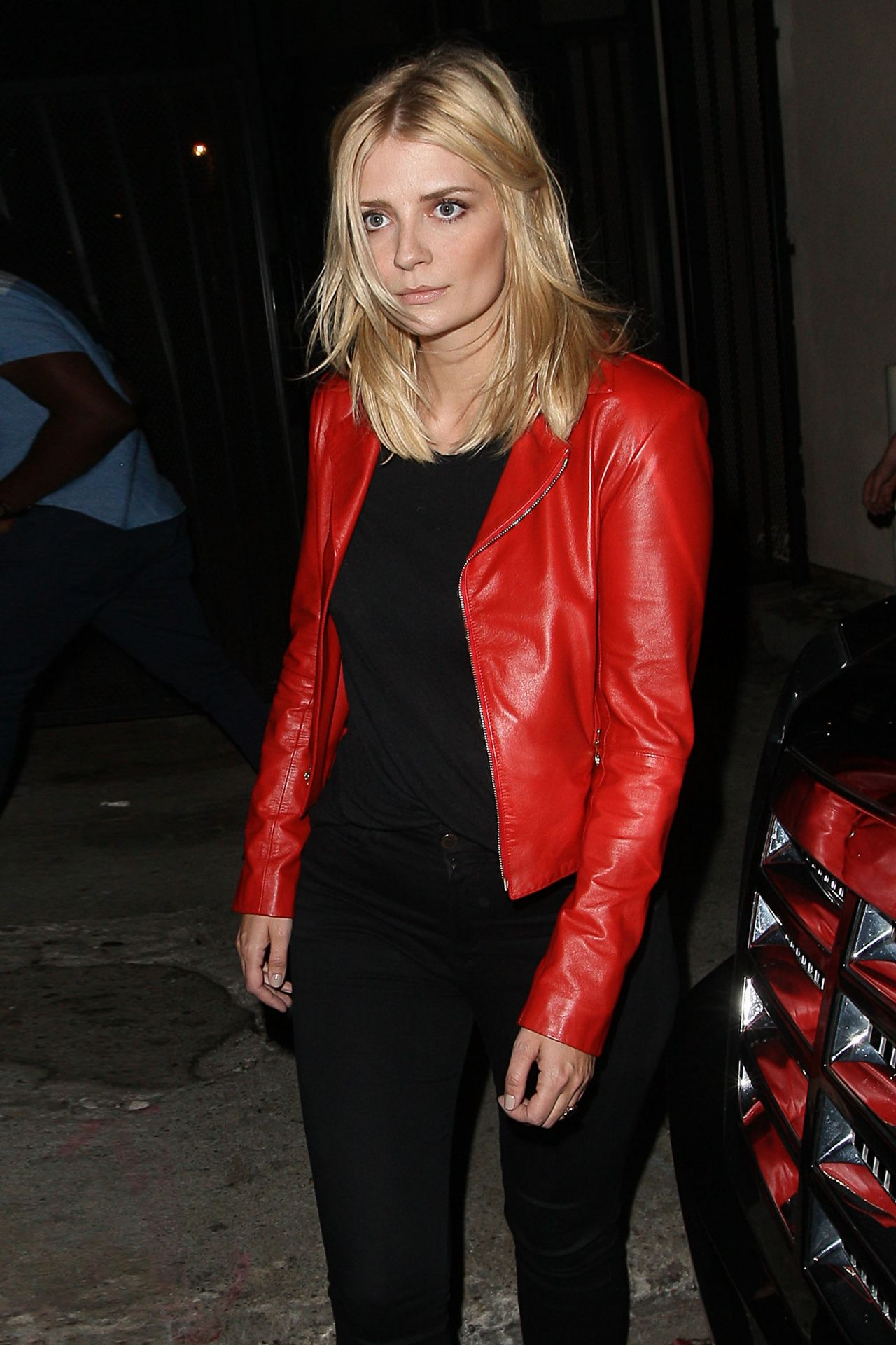 Mischa Barton - Outside Warwick Nightclub, March 2015