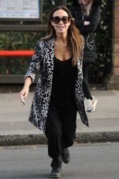 Myleene Klass - Out in London - March 2015