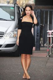 Myleene Klass Style - at the ITV Studios in London, March 2015