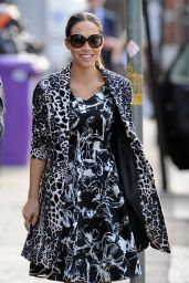 Myleene Klass Style - Out in London - March 2015