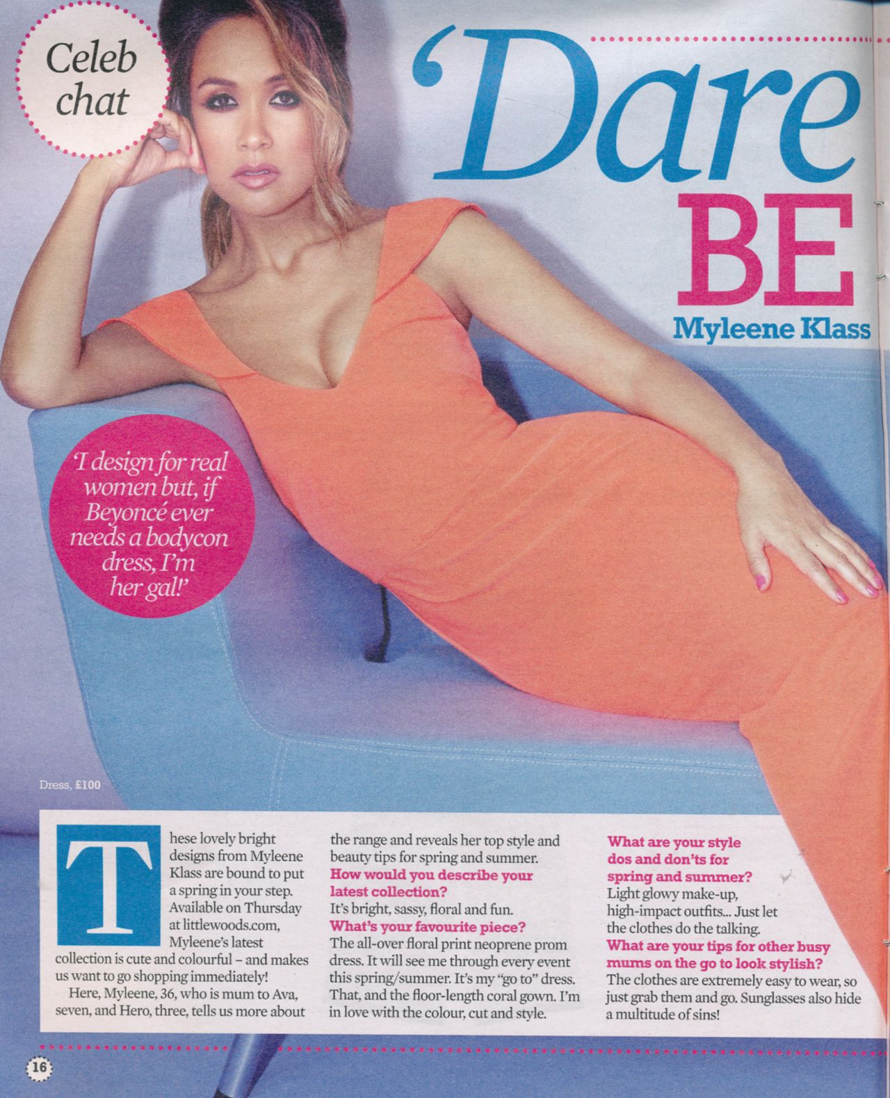 Myleene Klass - TV Extra Magazine March 15th 2015 Issue