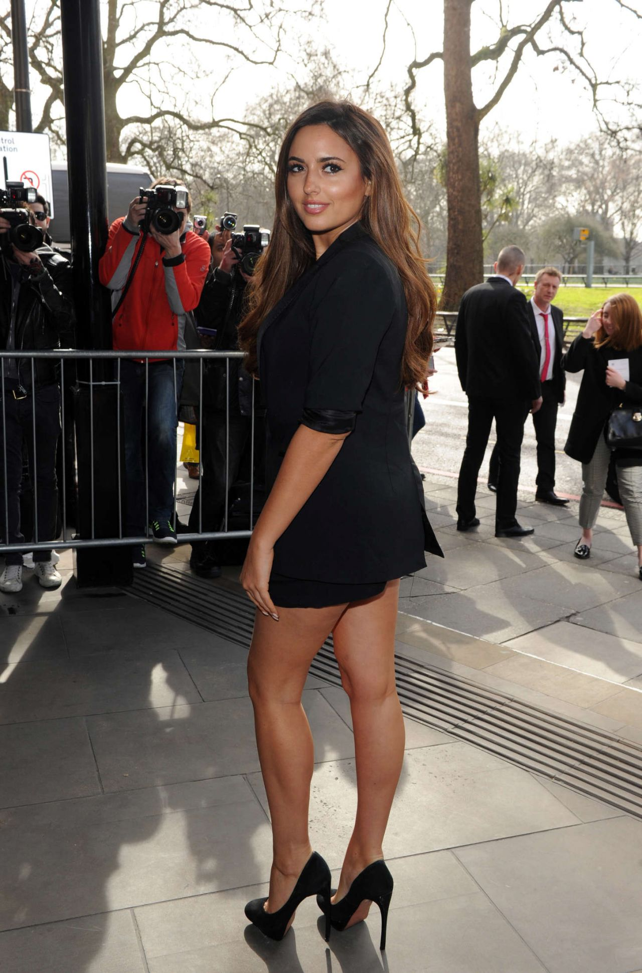 Nadia Forde Tric Awards 2015 In London