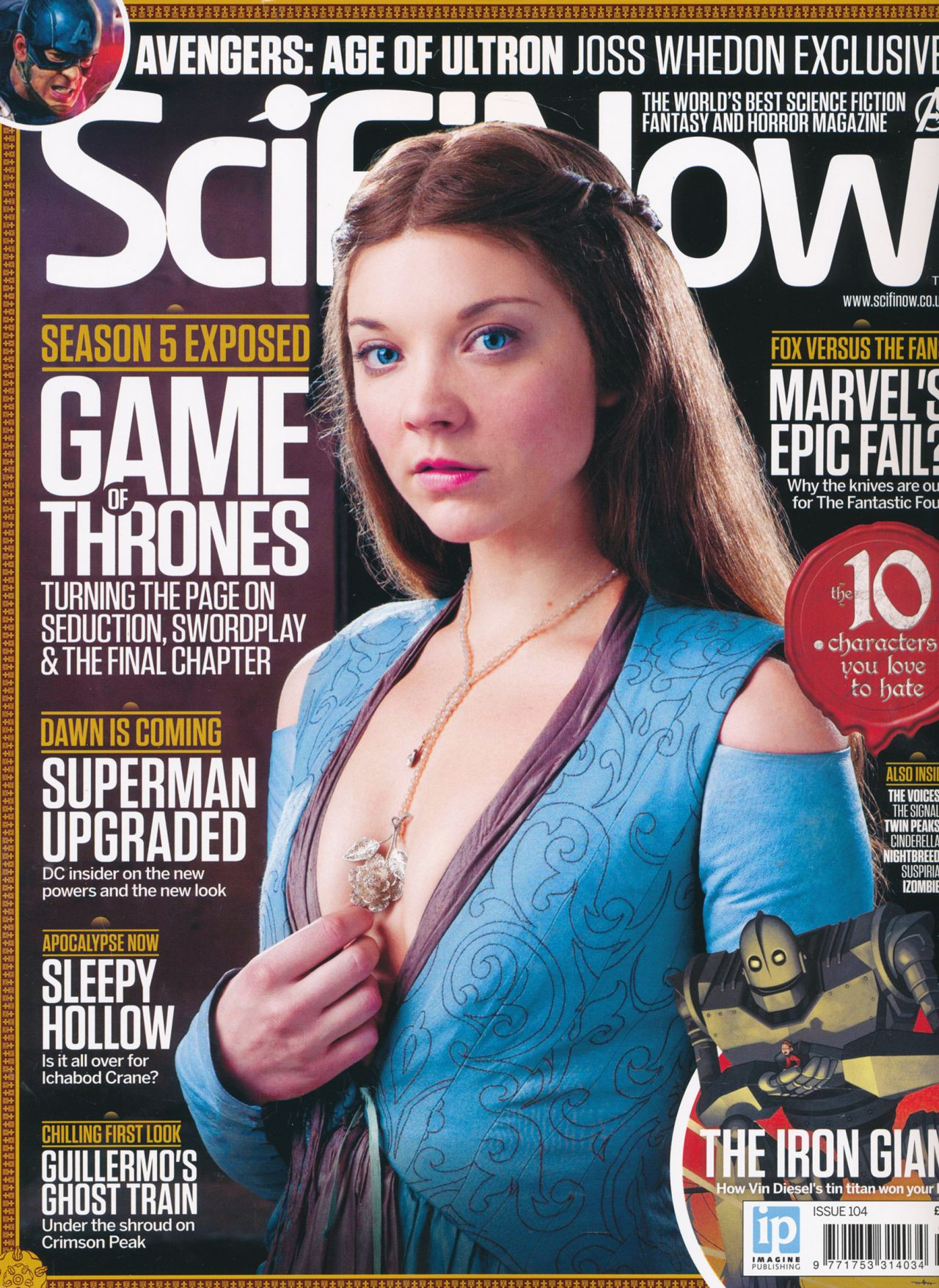 Natalie Dormer - Sci Fi Now Issue 104
