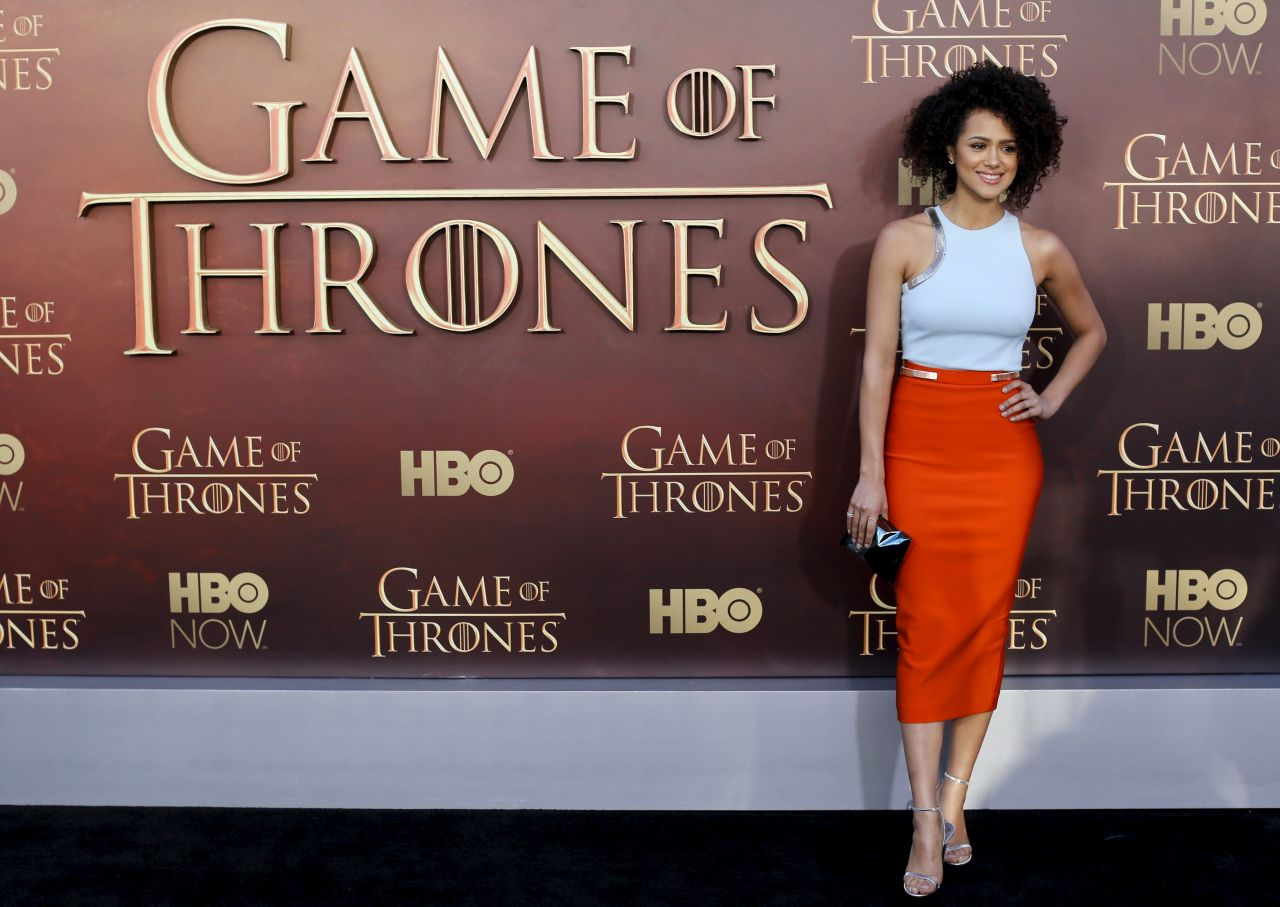 Nathalie Emmanuel - Game of Thrones Season 5 Premiere in San Francisco