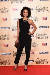 Nathalie Emmanuel – Game of Thrones Season 5 World Premiere in London
