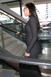 Naya Rivera - LAX Airport in Los Angeles, March 2015