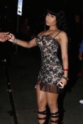 Nicki Minaj Style - Arriving at The House Of Blues, February 2015