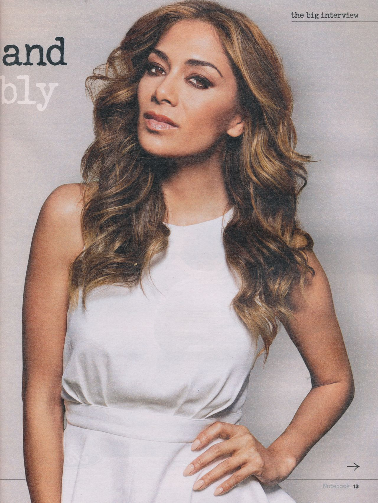Nicole Scherzinger - Notebook Magazine March 8th 2015 Issue