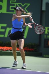 Nicole Vaidisova – 2015 Miami Open Tennis Tournament in Key Biscayne – 1st Round
