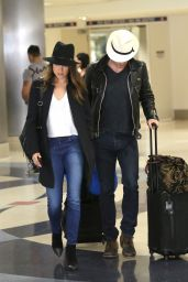 Nikki Reed at LAX Airport, March 2015