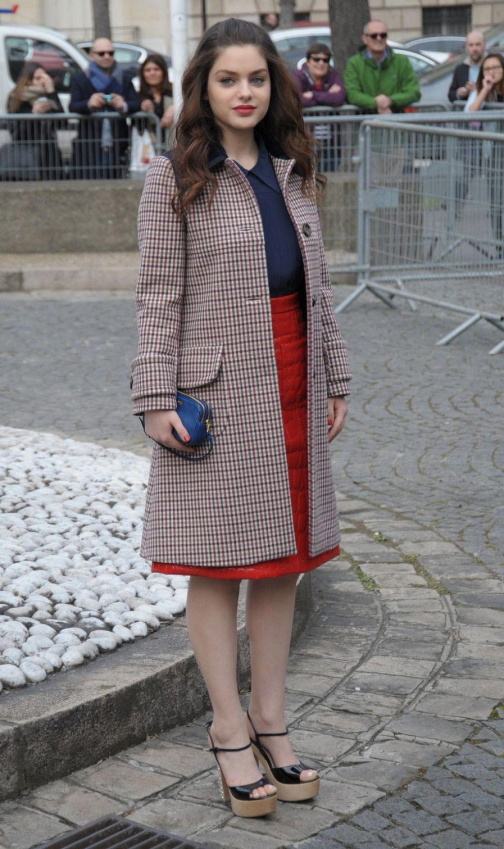Odeya Rush - Leaves Miu Miu Fashion Show - March 2015