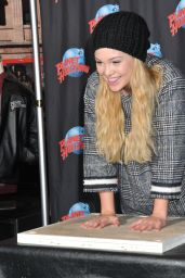 Olivia Holt at Planet Hollywood in Times Square in New York City, March 2015