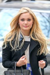 Olivia Holt Casual Style - Out in New York City, March 2015