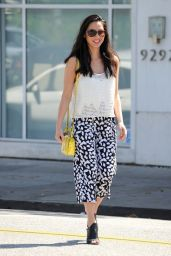 Olivia Munn Casual Style - Out in Los Angeles, March 2015