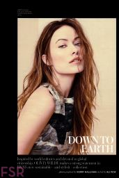 Olivia Wilde - InStyle Magazine April 2015 Issue