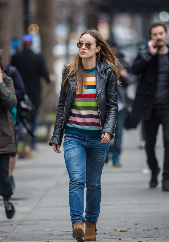 Olivia Wilde - Out in New York City, March 2015
