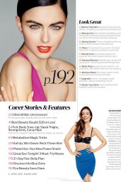 Olivia Wilde - Shape Magazine (US) April 2015 Issue