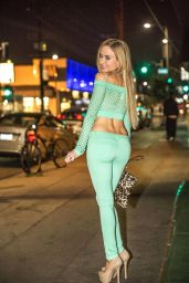 Paula Labaredas Night Out Style - West Hollywood, March 2015