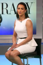 Paula Patton - ABC Studios in New York City, March 2015