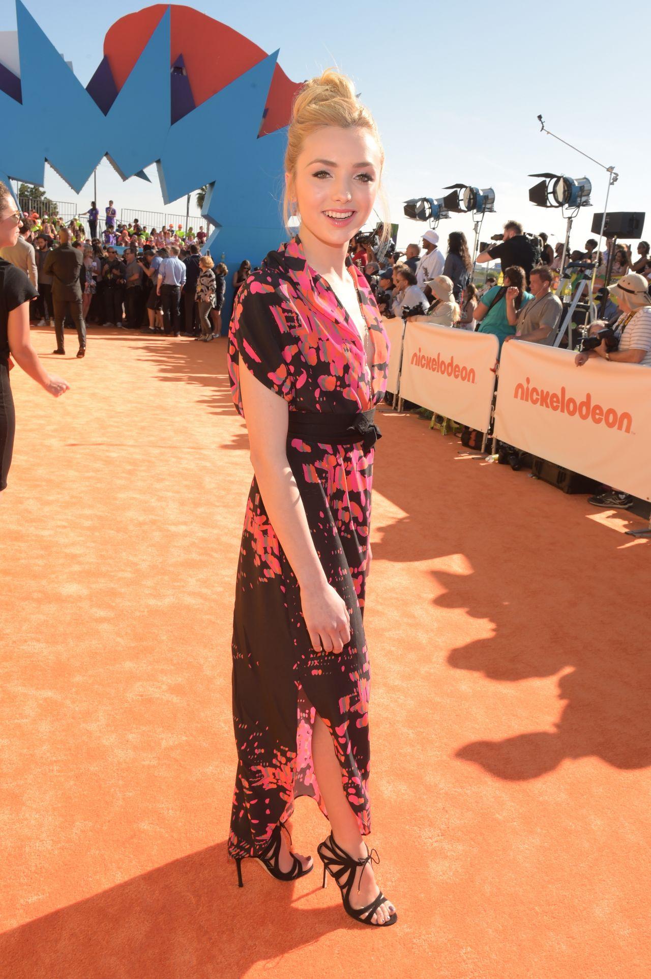 Peyton List   2015 Nickelodeon Peyton Roi List Kids Choice Awards