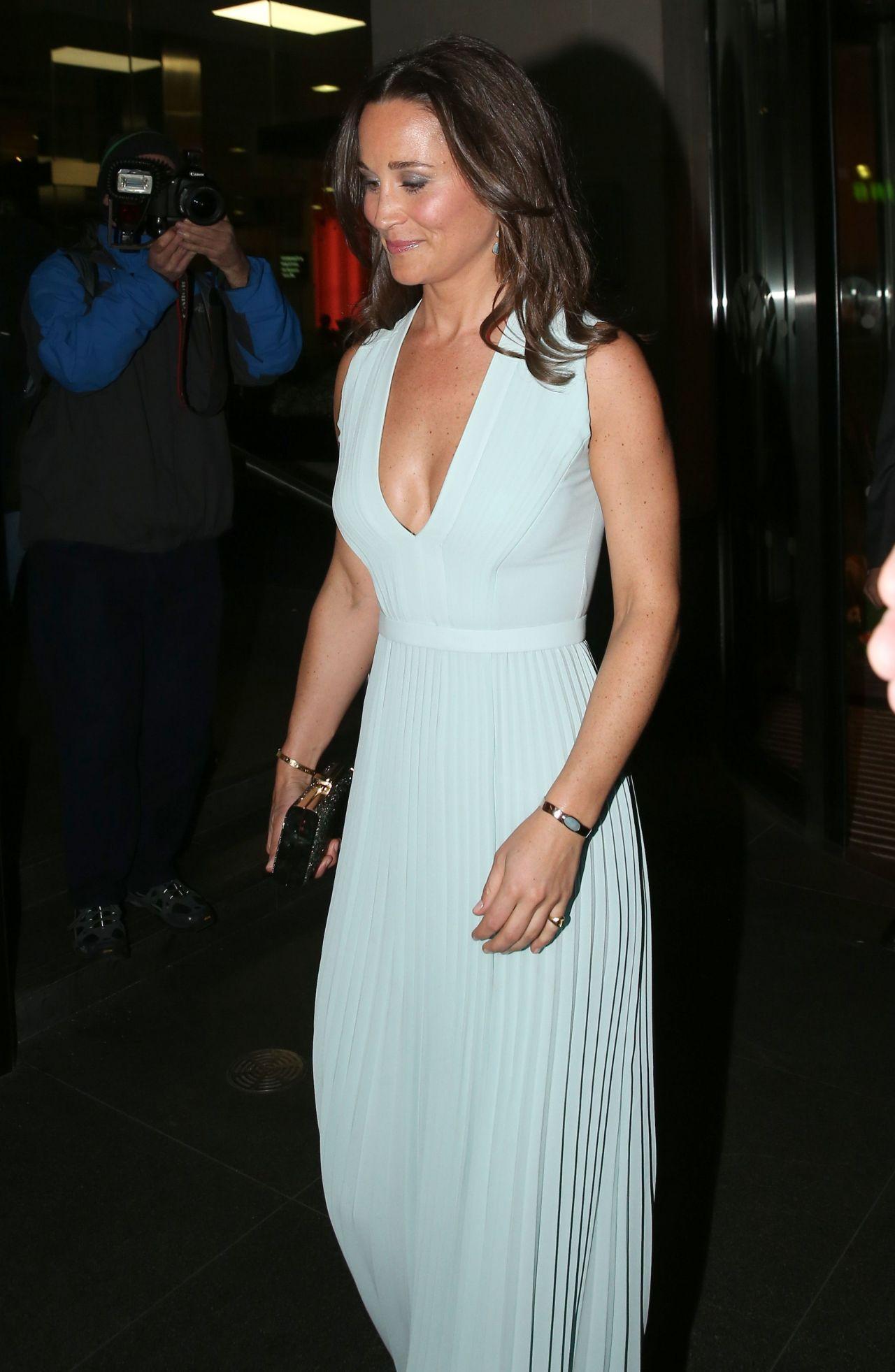 Pippa Middleton Fashion Parasnowball Event In London