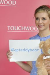 Rachel Riley - Hosts Top Swap Clothing Drive at Touchwood, March 2015
