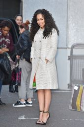Rebecca Ferguson Style - Outside the London Studios - March 2015