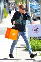 Rebecca Gayheart in Jeans - Leaving Eggy in LA, March 2015
