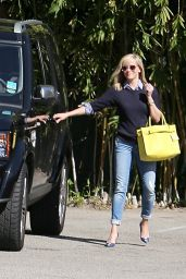 Reese Witherspoon in Jeans - Out in Los Angeles, March 2015