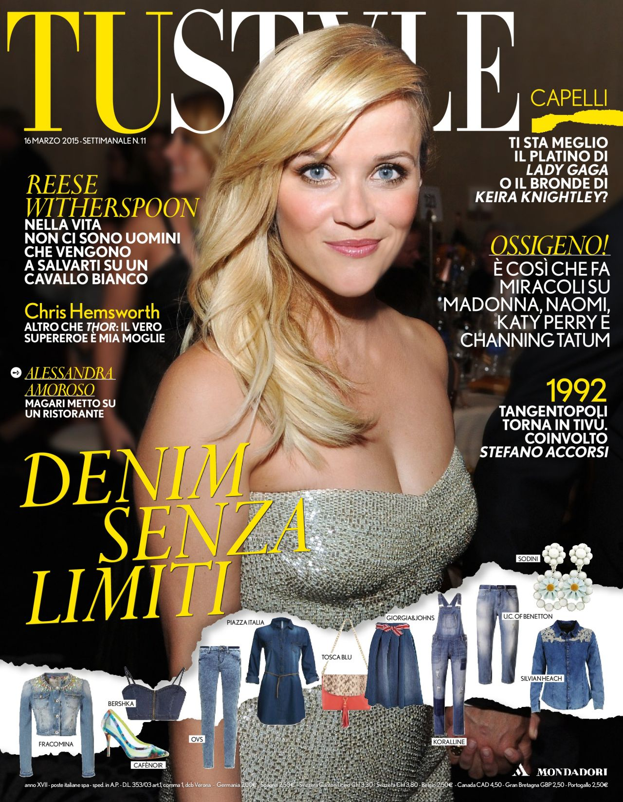 Reese Witherspoon - TuStyle Magazine March 2015 Issue