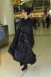 Rihanna at JFK airport in NYC, March 2015