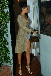 Rihanna Night Out Style - Going to a Dinner at Giorgio Baldi in Santa Monica, March 2015