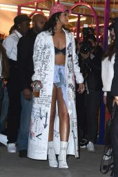 Rihanna Style - Melissa Forde Hat Collection Launch, March 2015