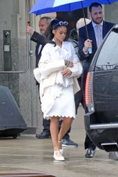 Rihanna Style - Out in NYC, March 2015