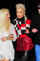 Rita Ora Night Out Style - London, March 2015