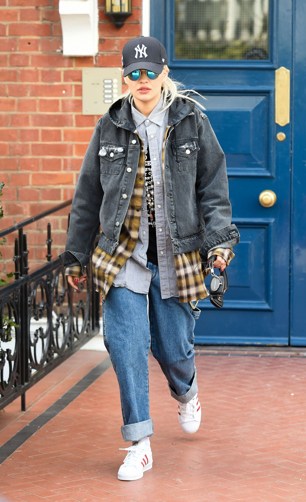Rita Ora Street Style Out In London March 2015
