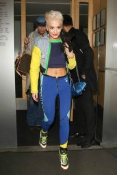 Rita Ora Style - Leaving NOBU Restaurant in London - March 2015