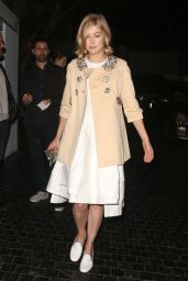 Rosamund Pike Style - Leaving Chateau Marmont in West Hollywood, March 2015