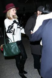 Rosie Huntington-Whiteley at LAX Airport, Feb.2015