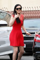 Rumer Willis - Arriving at Dancing With The Stars in Hollywood - MArch 2015