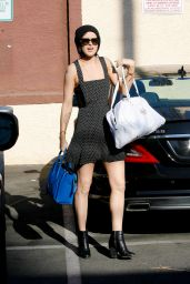 Rumer Willis at Dancing with the Stars Rehearsals in Hollywood, March 2015