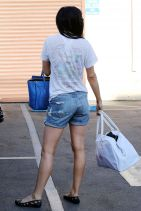 Rumer Willis Booty in Shorts at Dancing With the Stars Rehearsals in Hollywood, March 2015