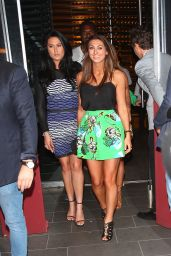 Sam Faiers & Luisa Zissman - Leaving BOA in West Hollywood, March 2015