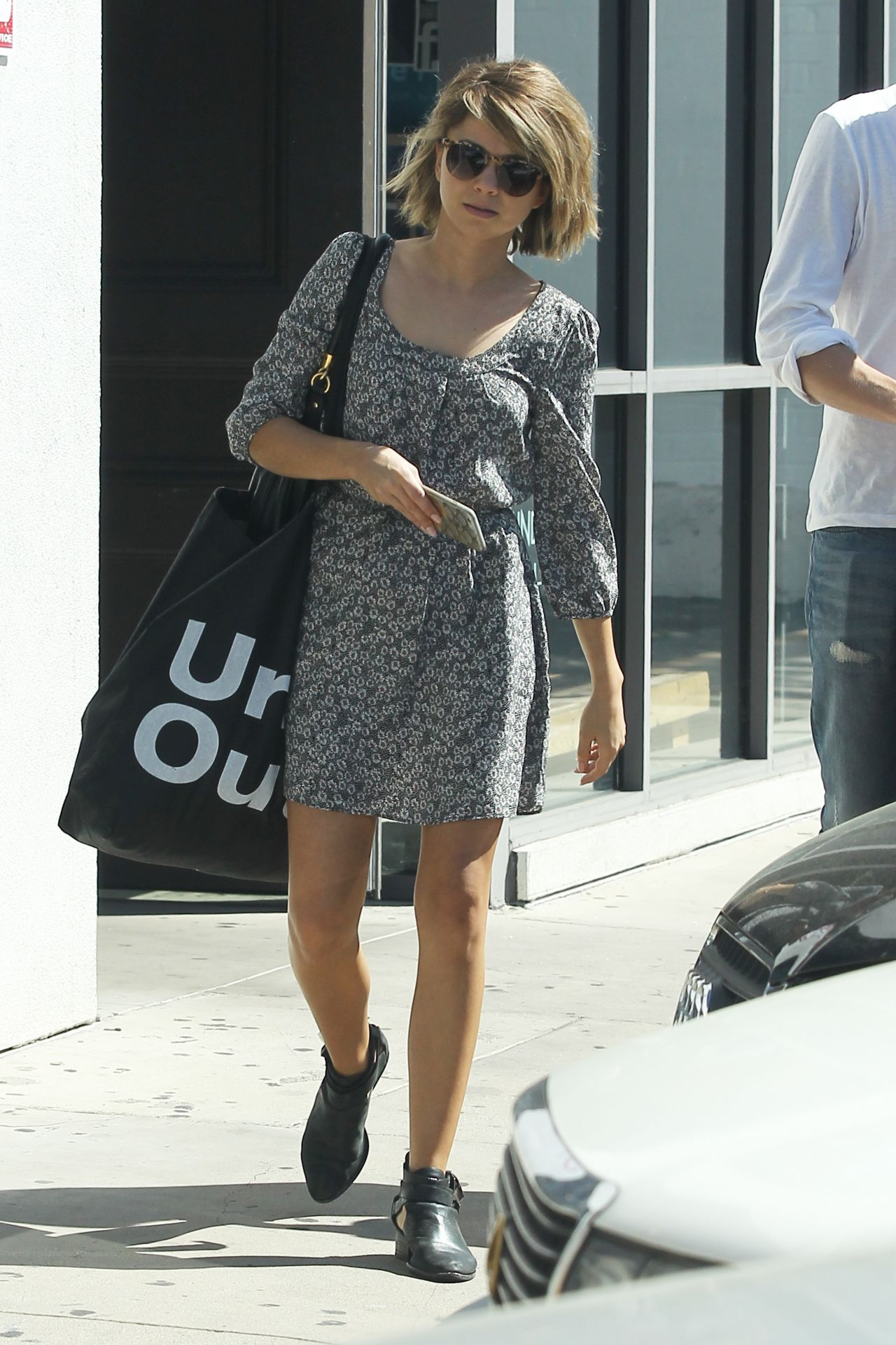 Sarah Hyland Street Style - Out in Los Angeles, March 2015