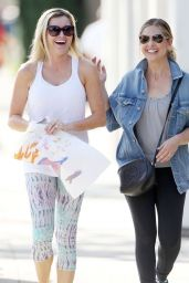Sarah Michelle Gellar - Out in Santa Monica, March 2015