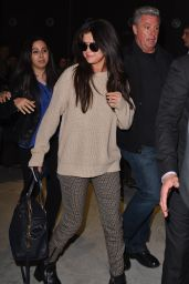 Selena Gomez at Charles de Gaulle Airport in Paris, March 2015